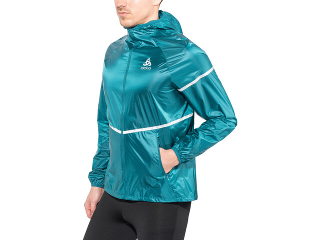Odlo Zeroweight Light Jacket Herren blue coral